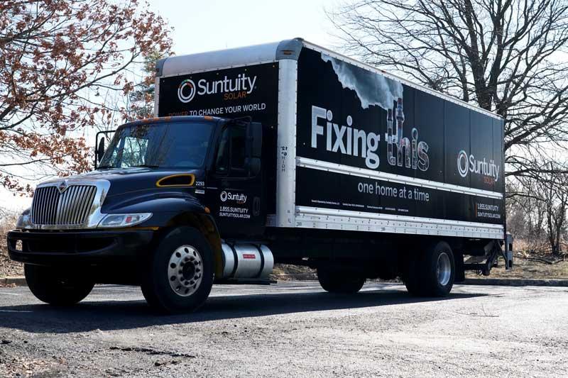Suntuity Sourcing Truck